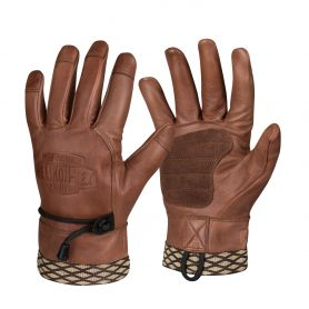 Rękawice Helikon Woodcrafter - Brązowe