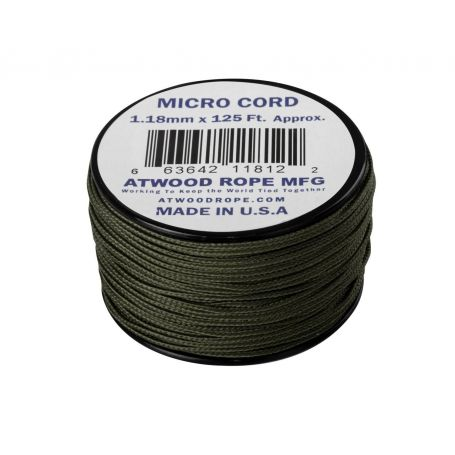 Micro Cord Atwood Rope MFG Olive Drab