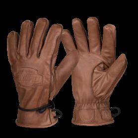 Rękawice zimowe skórzane Helikon Ranger Winter - Brązowe