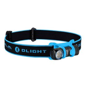 Latarka czołowa i kątowa Olight - H1 - NOVA BLUE  - 500 lumenów - Black/Blue