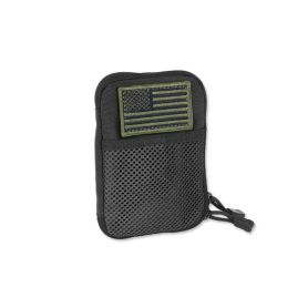 Condor - Pocket Pouch + US Flag Patch - Black