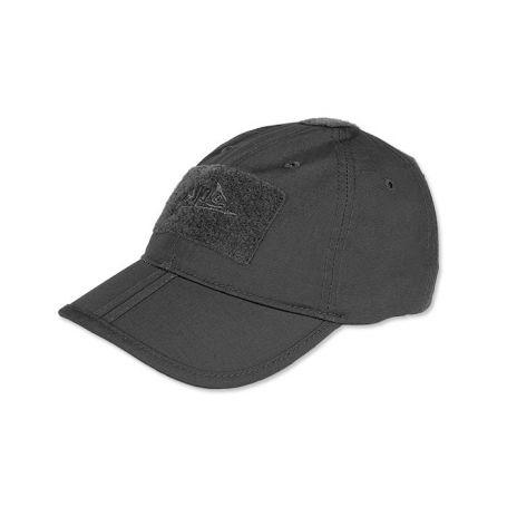 Czapka z daszkiem - Baseball Folding Cap - Helikon - Black - CZ-BBF-PR-01