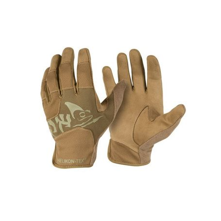 Rękawice - All Round Fit Tactical Gloves Light - Helikon - Coyote/Adaptive Green - RK-AFL-PO