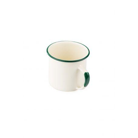 Kubek emaliowany - DeLuxe Enamelware Cup 12FL - GSI - 355 ml - Cream