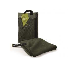 Ręcznik z mikrofibry - Outgo Ultra Compact Microfiber Towel - Medium Moss - McNett