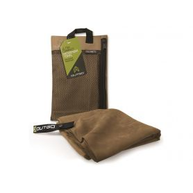Ręcznik z mikrofibry - Outgo Ultra Compact Microfiber Towel - Medium Mocha - McNett