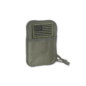 Condor - Pocket Pouch + US Flag Patch - Zielony OD