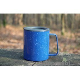Kubek GSI Glacier Stainless Camp Cup - 296 ml - Blue Speckle