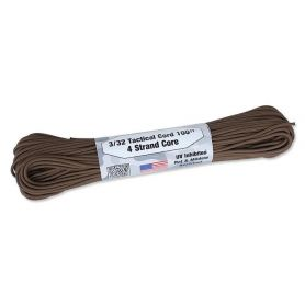 Atwood Rope MFG - Tactical Cord 3/32 - 2,2 mm- Brązowy 30,48mb