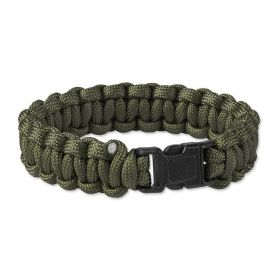 Bransoletka survivalowa Paracord Helikon - Olive Green