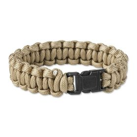 Bransoletka survivalowa Paracord Helikon - Coyote