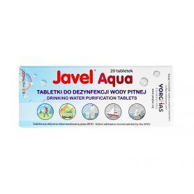 Tabletki do uzdatniania wody - Javel Aqua