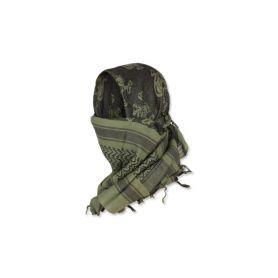 Arafatka 101 Inc. Czaszka - Zielony OD