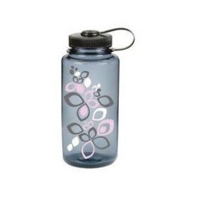 Nalgene Butelka Wide Mouth Gwint 53 mm - 1000 ml - Gray Bloom Pink