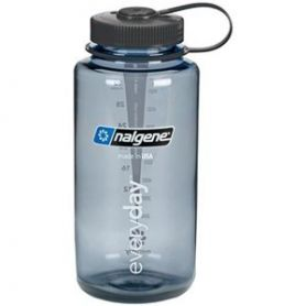 Nalgene Butelka Wide Mouth Gwint 53 mm - 1000 ml - Gray