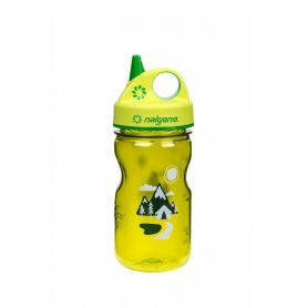 Butelka Nalgene Grip-N-Gulp -  350 ml - Green Trail